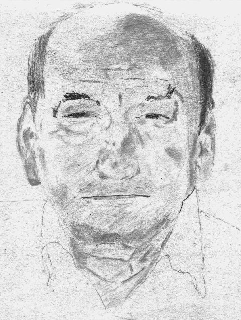 Dad draws Grandpa Lauro