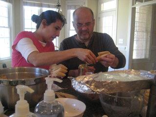 Making tamales 1