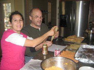 Making tamales 2
