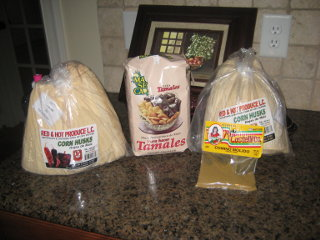 Picture of tamale stuff
